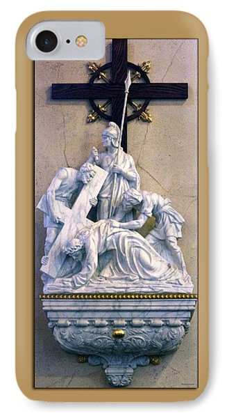 Station Of The Cross 07 Phone Case by Thomas Woolworth