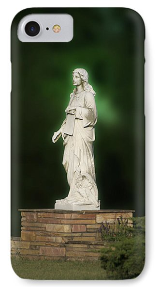 Statue 07 Phone Case by Thomas Woolworth