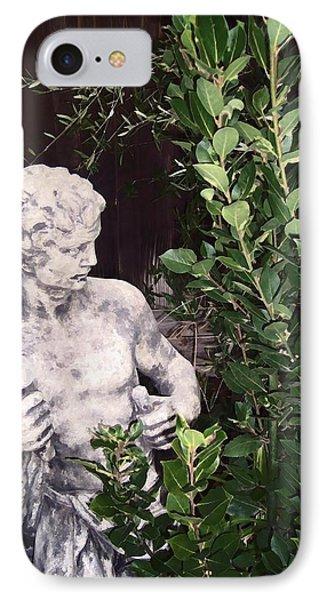 Statue 1 IPhone Case by Pamela Cooper