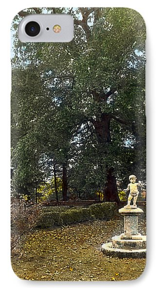 Statue And Tree Phone Case by Terry Reynoldson