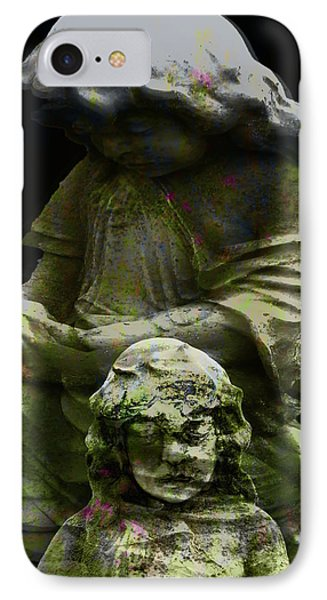 Statue For A Child IPhone Case