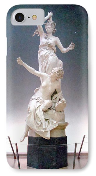 IPhone Case featuring the photograph Statue In Paris by Kay Gilley