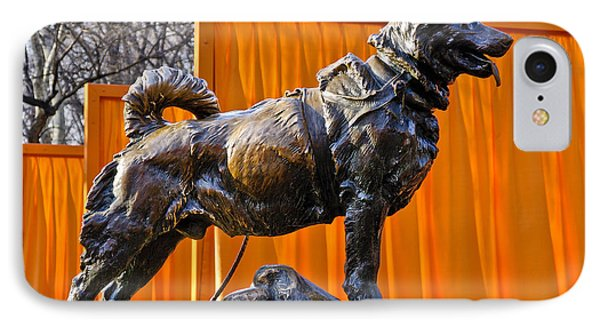 Statue Of Balto In Nyc Central Park Phone Case by Anthony Sacco