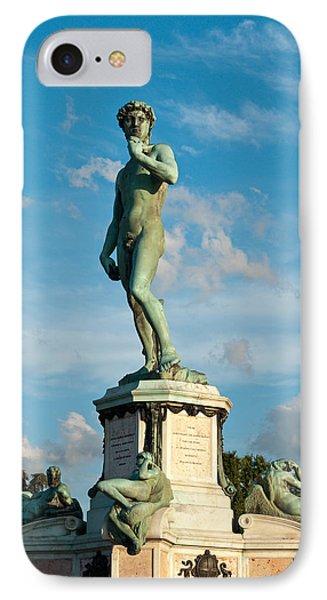 Statue Of David IPhone Case by Gurgen Bakhshetsyan