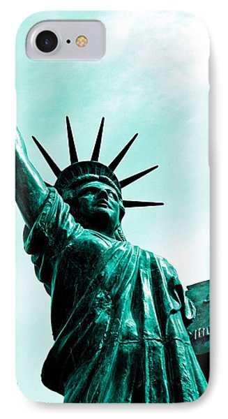 Statue Of Liberty   IPhone Case by Chris Berry