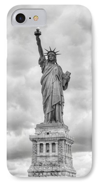 Statue Of Liberty Full IPhone 7 Case by Dave Beckerman