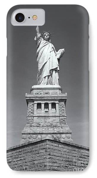 Statue Of Liberty IIi Phone Case by Clarence Holmes