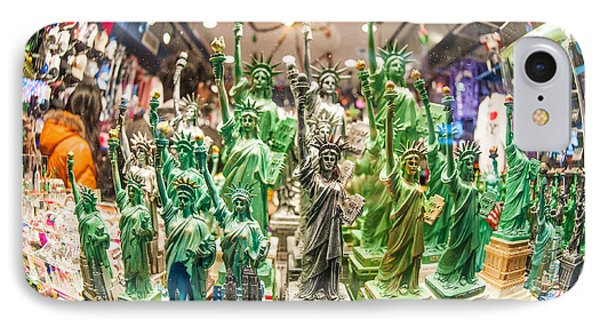 Statue Of Liberty IPhone Case by Luca Venturelli