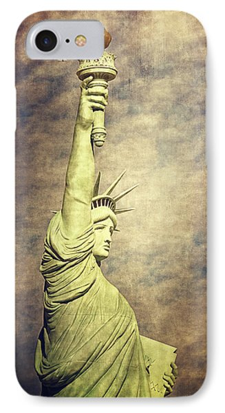 Statue Of Liberty IPhone Case by Maria Angelica Maira