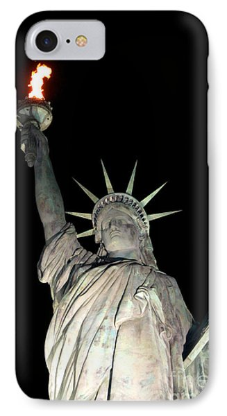 Statue Of Liberty Replica In Alabama IPhone Case by Kathy  White
