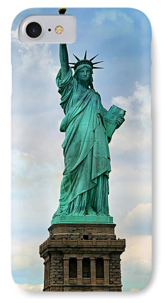Statue Of Liberty Phone Case by Stephen Stookey