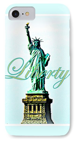 Statue Of Liberty Phone Case by The Creative Minds Art and Photography