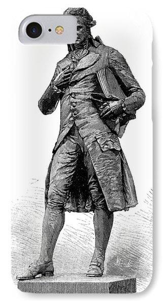 Statue Of Nicolas De Condorcet IPhone Case