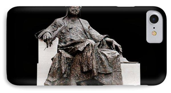 Statue Of Nizami Ganjavi  IPhone Case