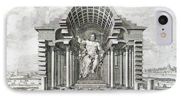 Statue Of Olympian Zeus Phone Case by Johann Bernhard Fischer von Erlach