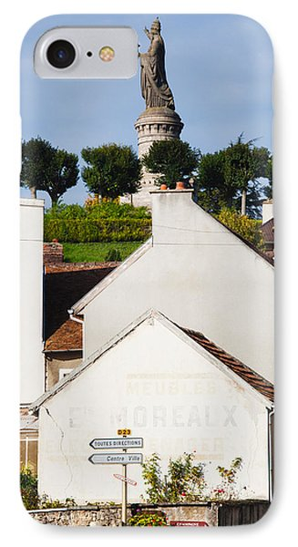 Statue Of Pope Urban II At Chatillon IPhone Case