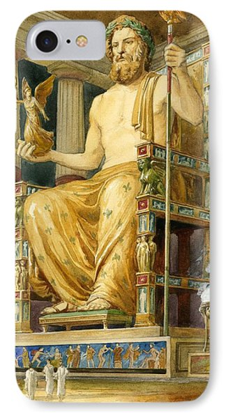 Statue Of Zeus At Oympia IPhone Case