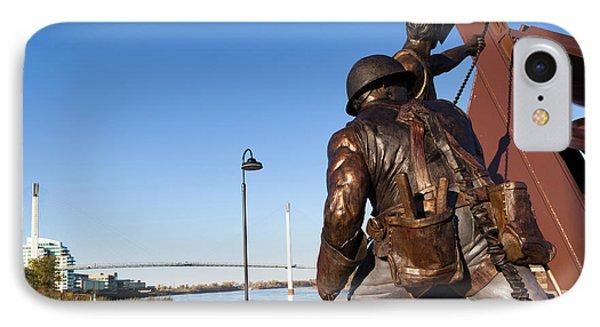 Statues And Bob Kerrey Pedestrian IPhone Case
