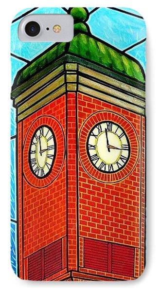 Staunton Virginia Clock Tower Phone Case by Jim Harris