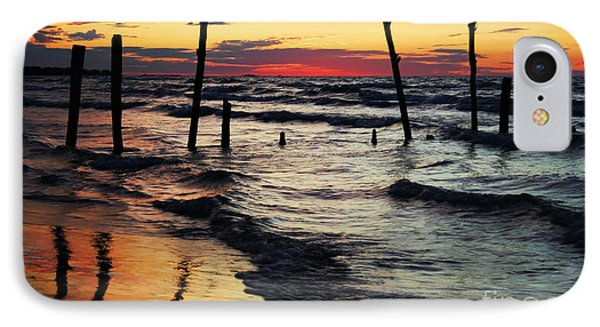 Stay Ashore Phone Case by Barbara McMahon