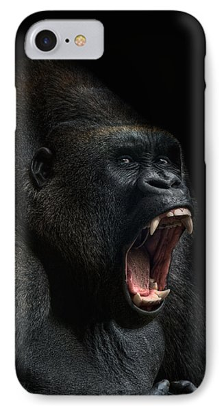Ape iPhone 7 Case - Stay Away by Joachim G Pinkawa