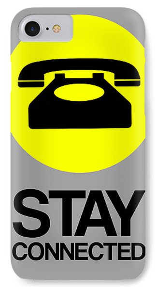 Stay Connected 1 IPhone Case