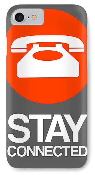 Stay Connected 2 IPhone Case