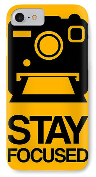 Stay Focused Polaroid Camera Poster 2 IPhone Case