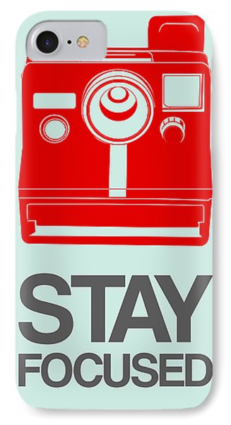 Stay Focused Polaroid Camera Poster 4 IPhone Case