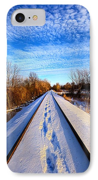 Staying Within The Lines IPhone Case by Phil Koch
