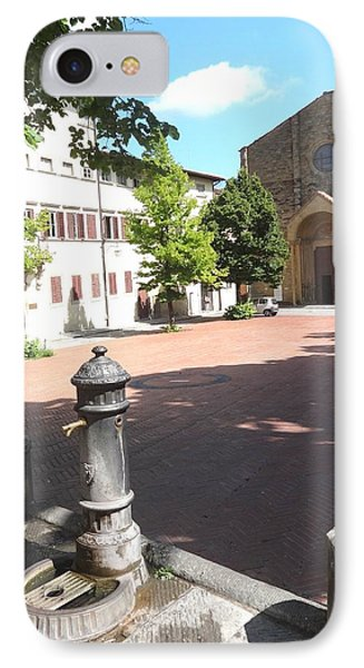 Piazza In Arezzo IPhone Case by Irina Stroup