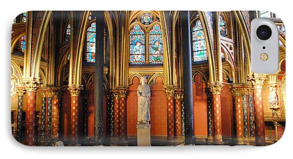 Ste.-chapelle Lower Chapel IPhone Case by Jacqueline M Lewis