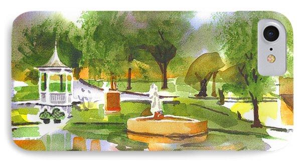 Ste Marie Du Lac In Watercolor II Phone Case by Kip DeVore