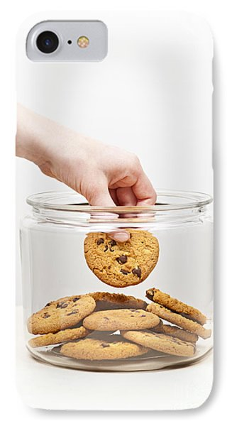 Stealing Cookies From The Cookie Jar IPhone Case by Elena Elisseeva