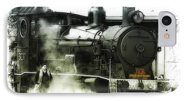 IPhone Case featuring the photograph Steam 01 by Kevin Chippindall
