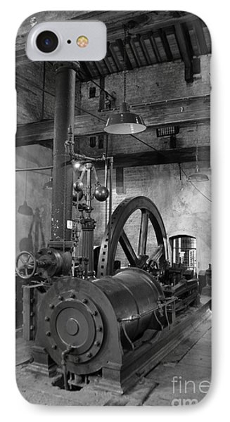 Steam Engine At Locke's Distillery IPhone Case by RicardMN Photography