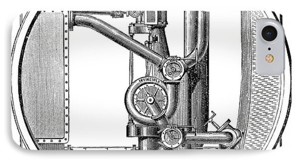 Steam Engine Pump IPhone Case by Science Photo Library