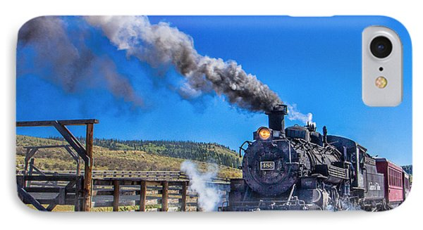 Steam Engine Relic IPhone Case by Steven Bateson