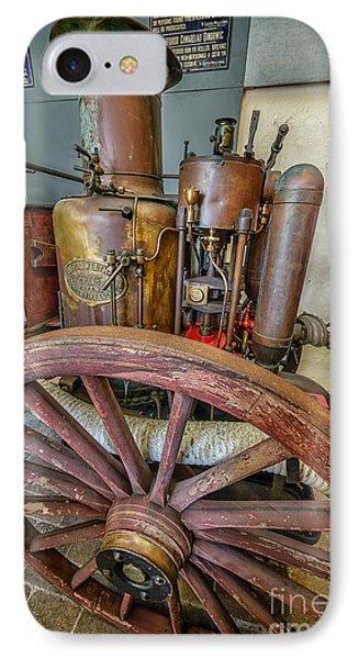 Steam Fire Engine IPhone Case by Adrian Evans