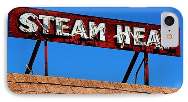 IPhone Case featuring the photograph Steam Heat by Daniel Woodrum