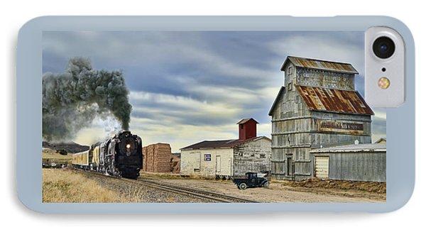 Steam In Castle Rock IPhone Case by Ken Smith