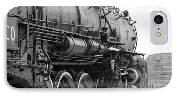 Steam Locomotive 1519 - Bw 02 IPhone Case by Pamela Critchlow