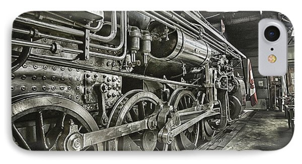 Steam Locomotive 2141 IPhone Case by Theresa Tahara