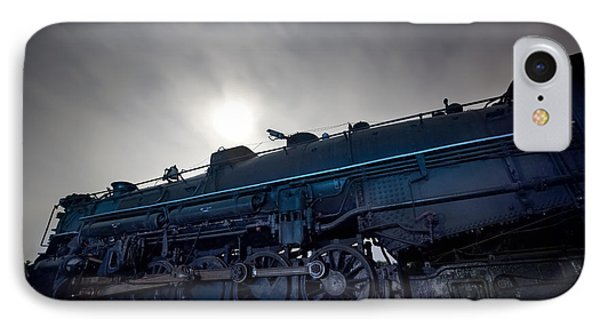 IPhone Case featuring the photograph Steam Locomotive by Keith Kapple