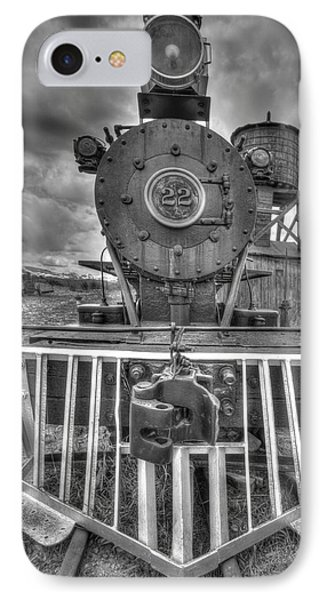 Steam Locomotive Train Phone Case by Al Reiner