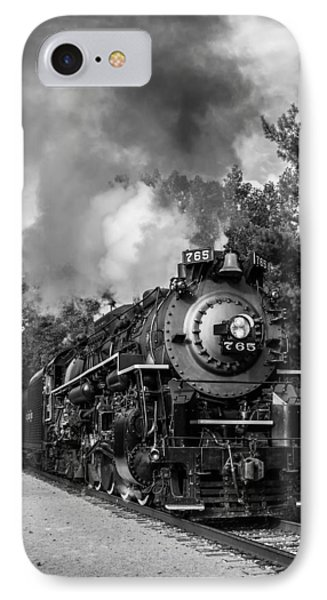 Steam On The Rails IPhone Case by Dale Kincaid