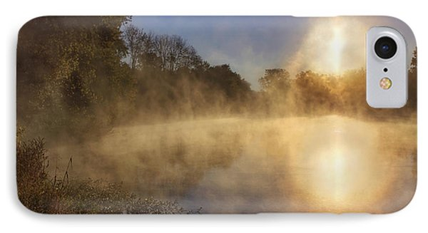 Steam On The Water Phone Case by Jason Politte