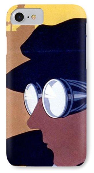 Steam Punk Wpa Vintage Safety Poster IPhone Case
