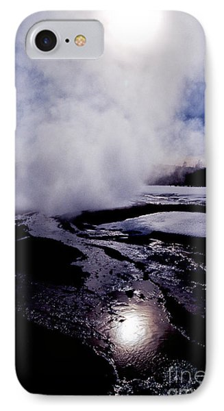 IPhone Case featuring the photograph Steam by Sharon Elliott