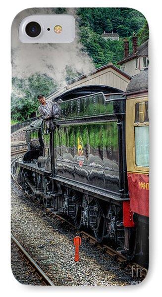 Steam Train 3802 Phone Case by Adrian Evans